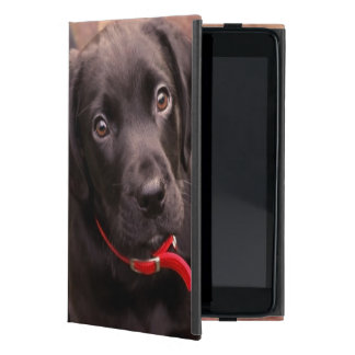 21 Week Old Black Lab iPad Mini Cover