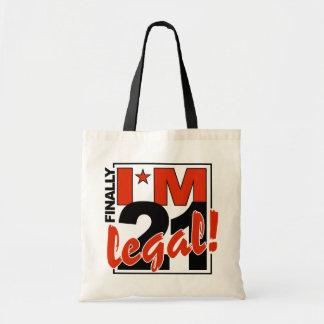 21 y bolso LEGAL - elija el estilo y el color