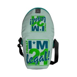 21 y la mini bolsa de mensajero LEGAL Bolsas De Mensajeria