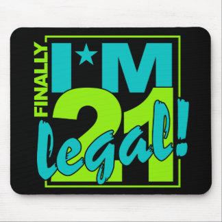 21 y mousepad LEGAL