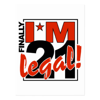 21 y postal LEGAL, personalizar