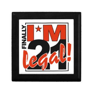 21 y regalo/joyero LEGALES Joyero Cuadrado Pequeño