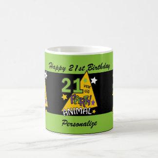 21 Year Old Party Animal Coffee Mug