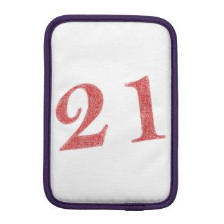 21 years anniversary iPad mini sleeve