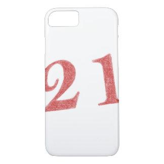 21 years anniversary iPhone 8/7 case