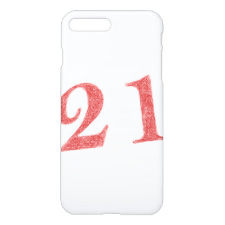 21 years anniversary iPhone 8 plus/7 plus case