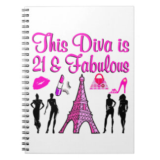 21 YR OLD PARIS LOVER NOTEBOOK