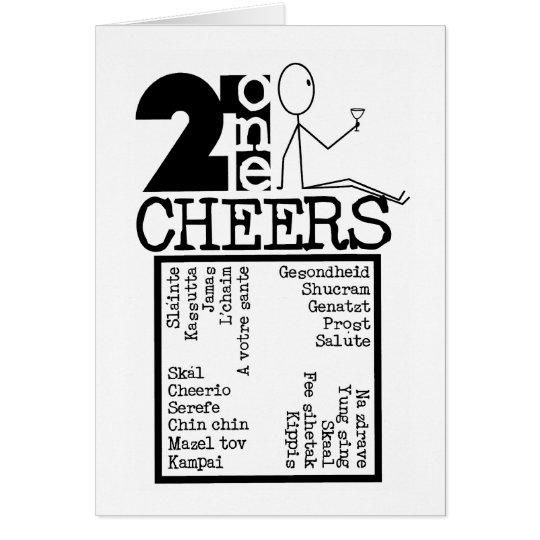 21CheersB&W Card