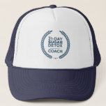 """21DSD Coach Trucker Hat<br><div class=""""desc"""">Throw this hat on and go! This hat features the 21DSD Coach emblem in our signature 21DSD blue</div>"""