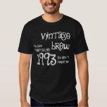21ro Blanco 1993 del negro del Brew del vintage Playeras
