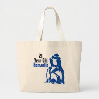 21ro Cumpleaños Bolsa Tela Grande