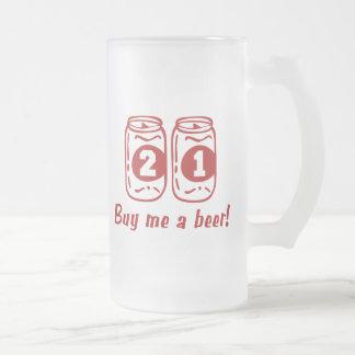 21ro Cumpleaños Tazas De Café