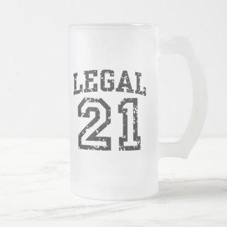 21ro Cumpleaños Taza De Café