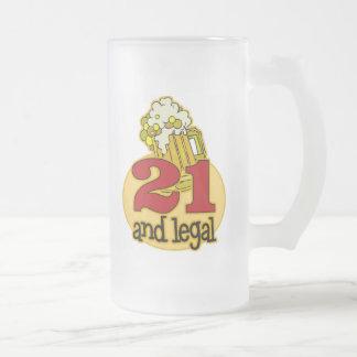 21ro regalo de cumpleaños divertido tazas