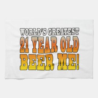 21ros cumpleaños divertidos Años más grandes de l Toalla De Mano