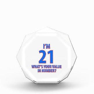 21ros diseños del cumpleaños