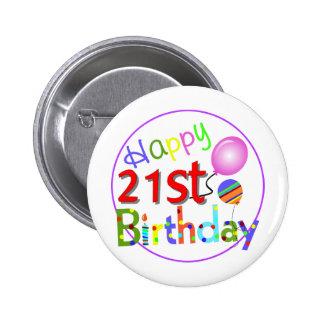 21ros saludos del cumpleaños pin