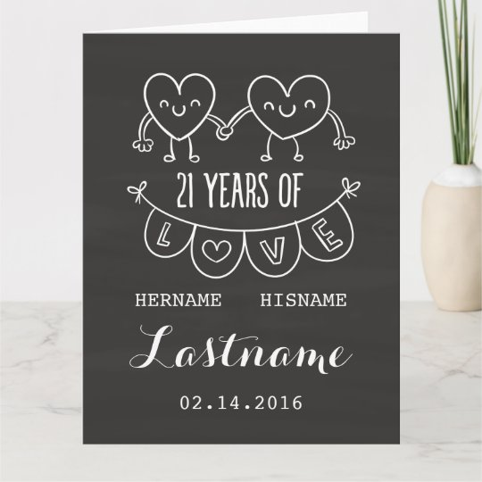 21 Wedding Anniversary Gifts: Happy 21st Anniversary Gifts On Zazzle