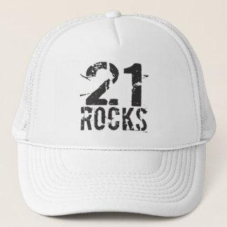 21st Birthday - 21 Rocks Hat