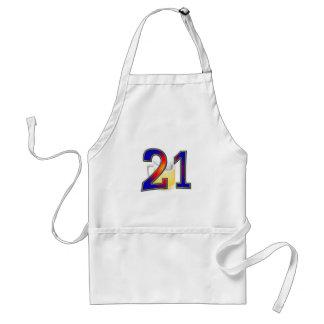 21st birthday beer adult apron