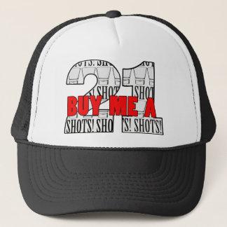 21st Birthday Buy Me A Shot Trucker Hat