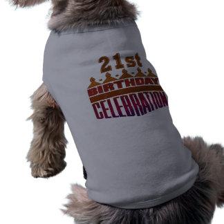 21st Birthday Celebration Gifts Tee