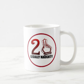 21st Birthday Classic White Coffee Mug