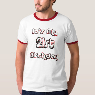 21st Birthday Drinking Shirt