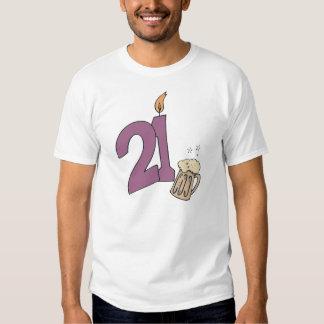 21st Birthday Drinks Shirt