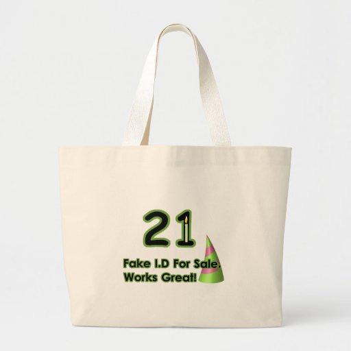 21st Birthday Fak I.D. Bag