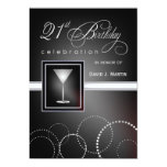 21st Birthday - Formal Party Invitations