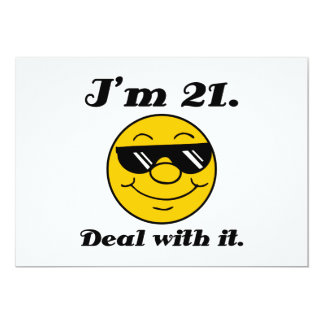 21st Birthday Gag Gift Card