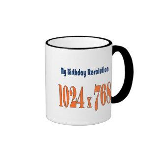 21st birthday gift idea ringer coffee mug