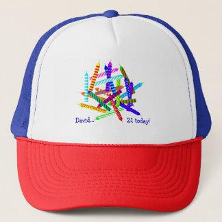 21st Birthday Gifts Trucker Hat