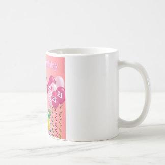 21st Birthday Granddaughter Poem Classic White Coffee Mug