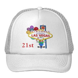 21st Birthday In Las Vegas Hat