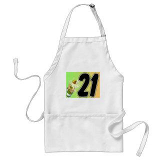 21st Birthday merchandise Adult Apron