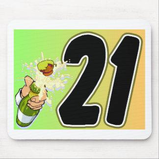 21st Birthday merchandise Mouse Pad