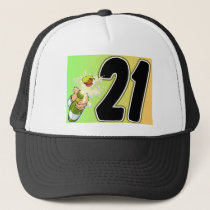 21st Birthday merchandise Trucker Hat