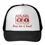 21st Birthday Mesh Hat