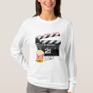 21st Birthday Movie Party T-Shirt