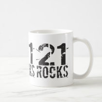 21st Birthday Mug - 21 Rocks Birthday Gift