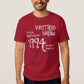 21st Birthday or any Year 1994 Vintage Brew V38C Tshirt