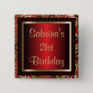 21st Birthday Party   DIY Text Button