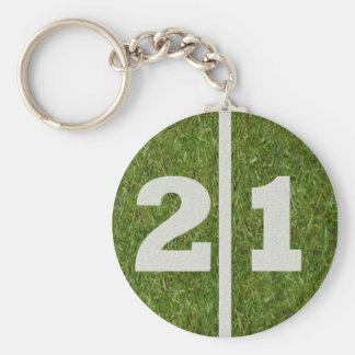 21st Birthday Party Favor Keychain