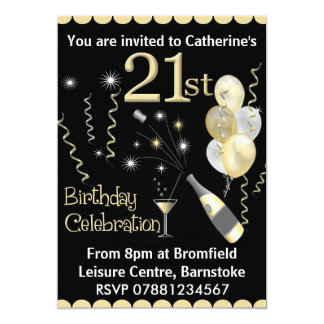 st birthday invitations  announcements  zazzle, Birthday invitations
