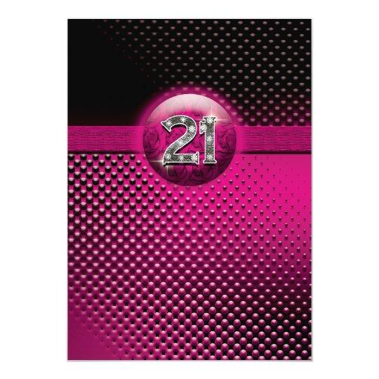 21st birthday party invitations - CUSTOMIZE