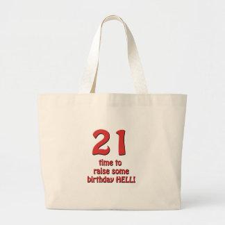 21st Birthday Raise Hell Bags