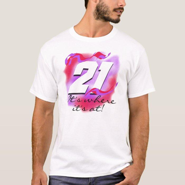 21st Birthday Shirts For Him
