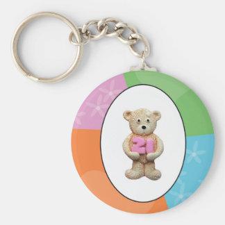 21st Birthday Teddy Bear Keychain